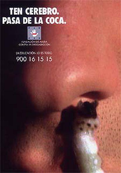Cartel de la campaña de la FAD.