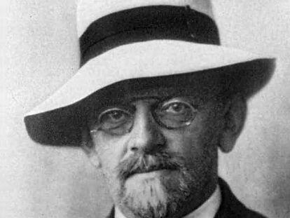El matemático David Hilbert.