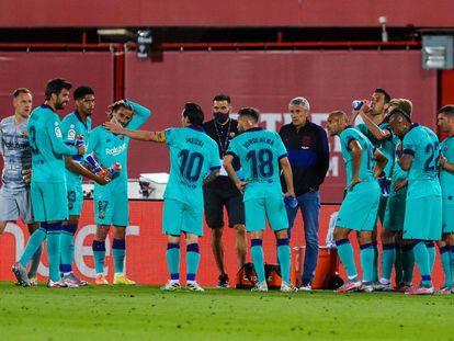 El Barça se resetea en ataque
