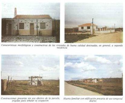 Imagen tomada del estudio de 1988 de María Teresa Franchini titulado 'Una ciudad lineal espontánea'.