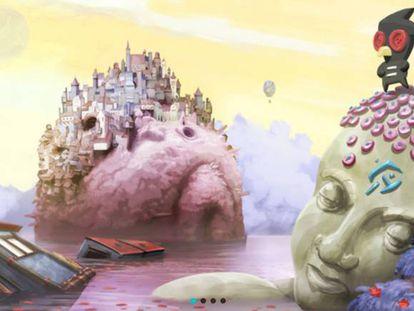 Imagen de un videojuego de la empresa argentina Okam Studio.