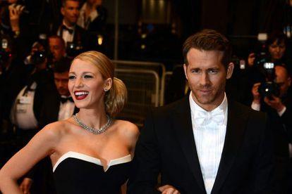 Blake Lively y Ryan Reynolds, en el festival de Cannes, el pasado mayo.