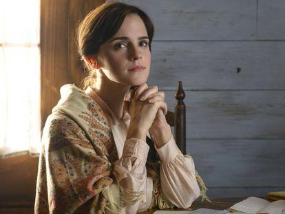 Emma Watson en su hasta ahora último papel, el de Meg March en 'Mujercitas', de Greta Gerwig (2019).