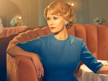 Catherine Zeta-Jones como Olivia de Havilland en 'Feud'.