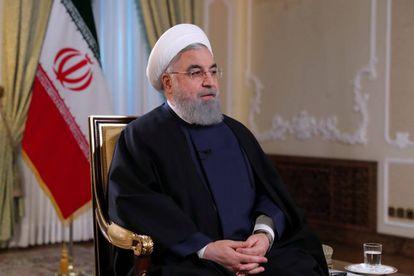 Rohani, durante una entrevista en la televisión estatal en Teherán, el lunes pasado