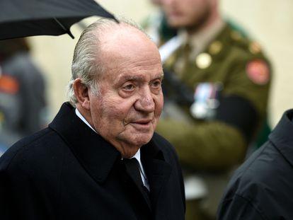 Juan Carlos I, en mayo de 2019.