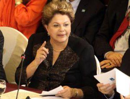 En la imagen, la presidenta brasileña Dilma Rousseff. EFE/Archivo