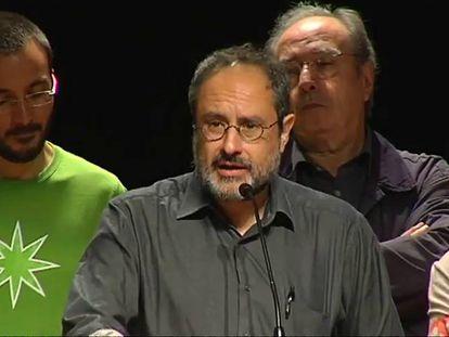Antonio Baños cree que hay una mayoría a favor de cambiar el statu quo.