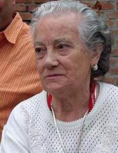 Nieves Torres, represaliada por el franquismo.
