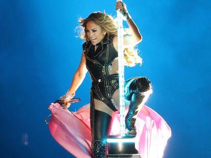 Jennifer Lopez, en la SuperBowl 2020