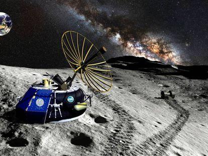 Representación de Moon Express