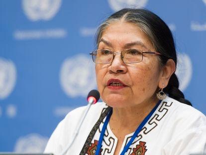 Tarcila Rivera Zea, activista quechua y presidenta ejecutiva del Foro Internacional de Mujeres Indígenas.