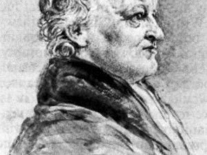 Imagen del poeta y pintor William Blake.