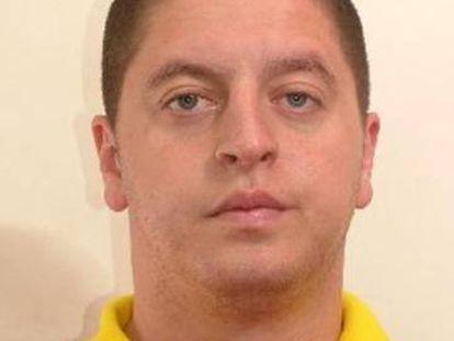 Imagen del preso fugado de Valdemoro la tarde del pasado jueves.