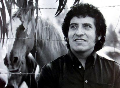 El cantante chileno Víctor Jara, asesinado durante los primeros días de la dictadura de Augusto Pinochet.