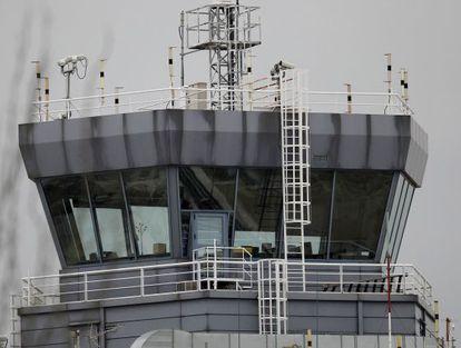 Torre de control del aeropuerto de Madrid-Barajas