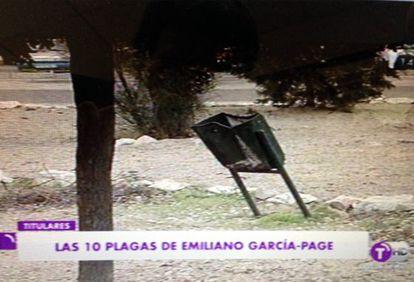 Imagen del telediario de Castilla-La Mancha TV.