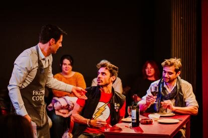 Ensayos de la obra 'Cádiz', en el Teatro Lara / LUCÍA ROMERO