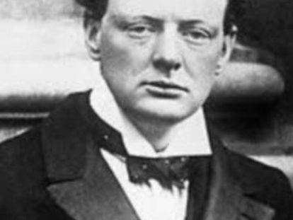 Imagen de Winston Churchill momentáneamente desaparecida del buscador Google.