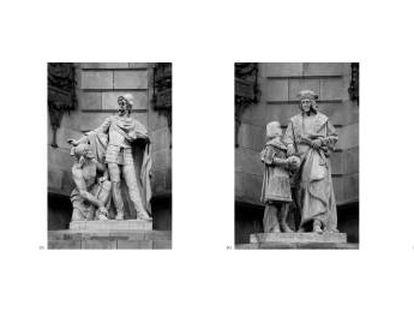 Fotografías del conjunto de la obra expuesta al Macba.