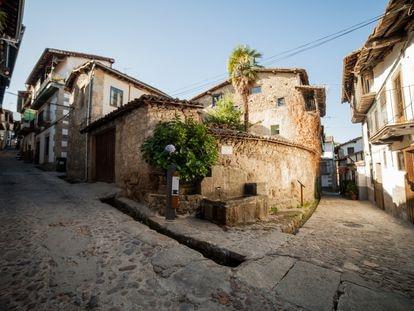 Fuente de Perales en Candelario, un pueblo de Salamanca. Foto: Ayuntamiento de Candelario