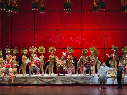 Ensayo de 'Fausto' en el Teatro Real.