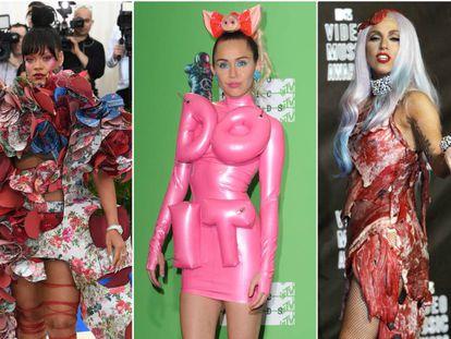 Rihanna, Miley Cyrus, Lady Gaga y Madonna.
