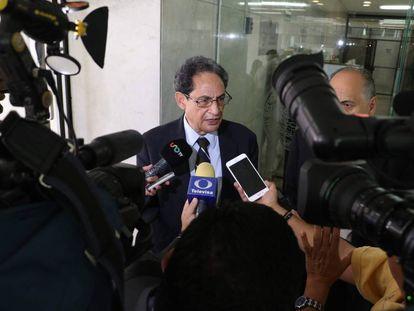 Sergio Aguayo en el Tribunal Superior de Justicia de la capital, en una imagen de archivo.
