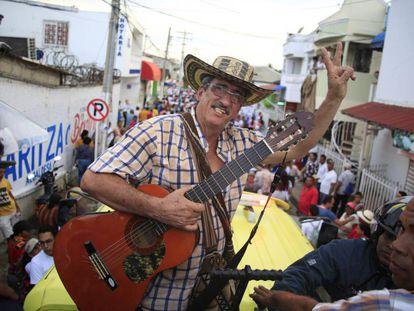 Guillermo Torres, conocido como Julián Conrado, es el primer exguerrillero de las FARC que se convierte enalcalde de su pueblo.