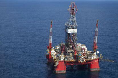 Una plataforma de Pemex en el Golfo de México.