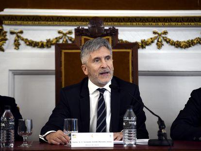 El ministro de Interior, Fernando Grande-Marlaska, el pasado 6 de marzo.