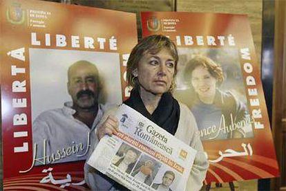 La periodista italiana Giuliana Sgrena permaneció un mes secuestrada en Bagdad.