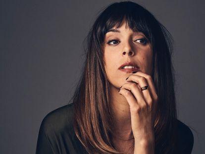 La actriz Belén Cuesta en una sesión realizada por la productora de la película 'Sentimental'.