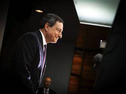 El presidente del Banco Central Europeo (ECB), Mario Draghi. EFE/Archivo