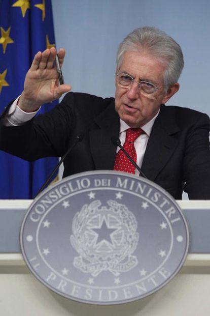 Monti anuncia la retirada de Roma de la carrera olímpica