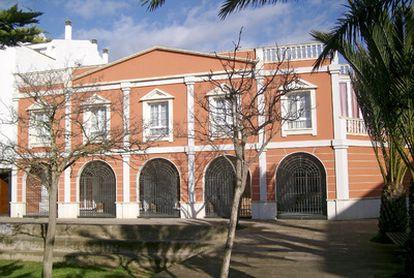 La casa de Juan Ignació Balada Llabrés en Ciutadella.