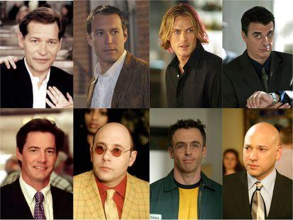 Richard, Aidan, Smith, Big, Trey, Stanford, Steve y Harry, algunos de los hombres que con mayor o menor protagonismo aparecieron en 'Sexo en Nueva York'.