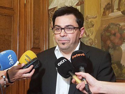 El primer teniente de alcalde de Barcelona, Gerardo Pisarello.