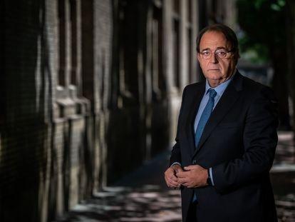Carlos Pérez Anadón, consejero de Hacienda y Administración Pública de Aragón, el jueves pasado en Zaragoza.