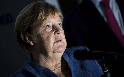 Last Friday, German Chancellor Angela Merkel (Angela Merkel) visited an Ebola vaccine manufacturing plant in Burgwedel, Germany.