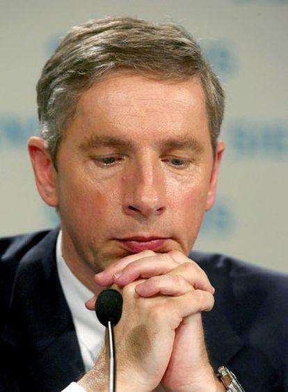 Klaus Kleinfeld tuvo que dimitir de la presidencia de Siemens por los casos de corrupción en su compañía.