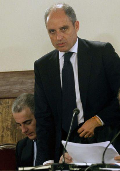 Francisco Camps durante el juicio.