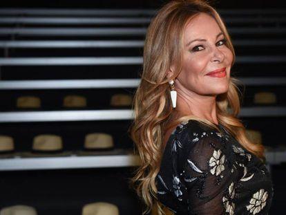 La actriz Ana Obregón.