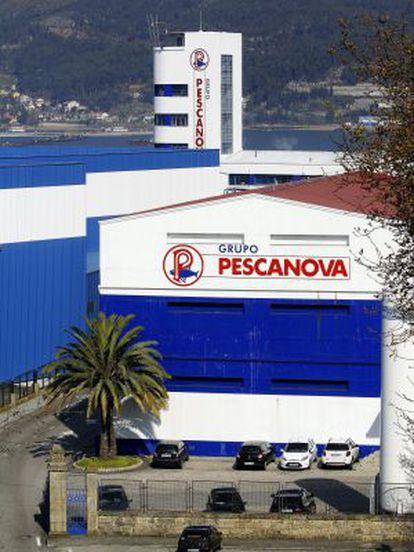 Sede central de Pescanova en Chapela