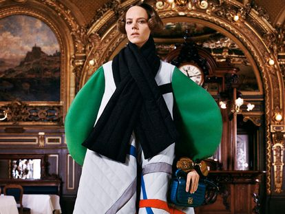 El desfile de Loewe, en la semana de la moda de París.