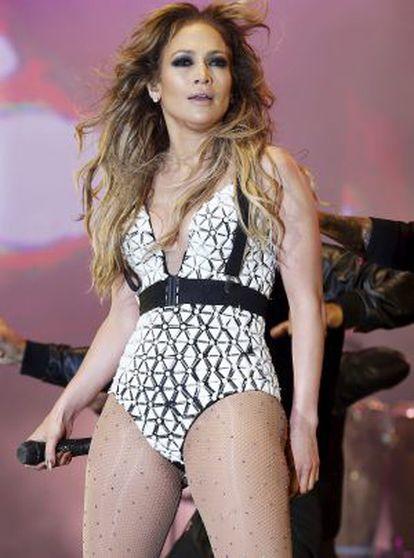 Jennifer Lopez, el 29 de mayo en Rabat.