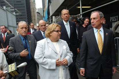 Alicia Esteve, alias Tania Head, que se inventó que era superviviente del atentado en las Torres Gemelas y llegó a ser presidenta de Asociación de Supervivientes de los Atentados del World Trade Center.