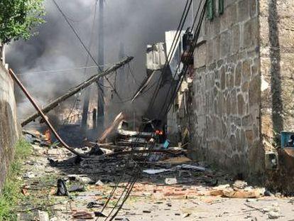 El dueño del inmueble en el que se ha producido la deflagración ha sido detenido. Hay 30 heridos