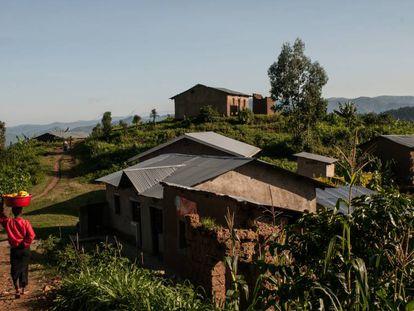 Comunidad rural de Nyarusazi, Ruanda.