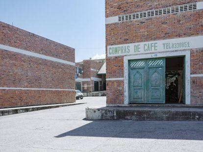 Instalaciones de compra de café en Garzón.